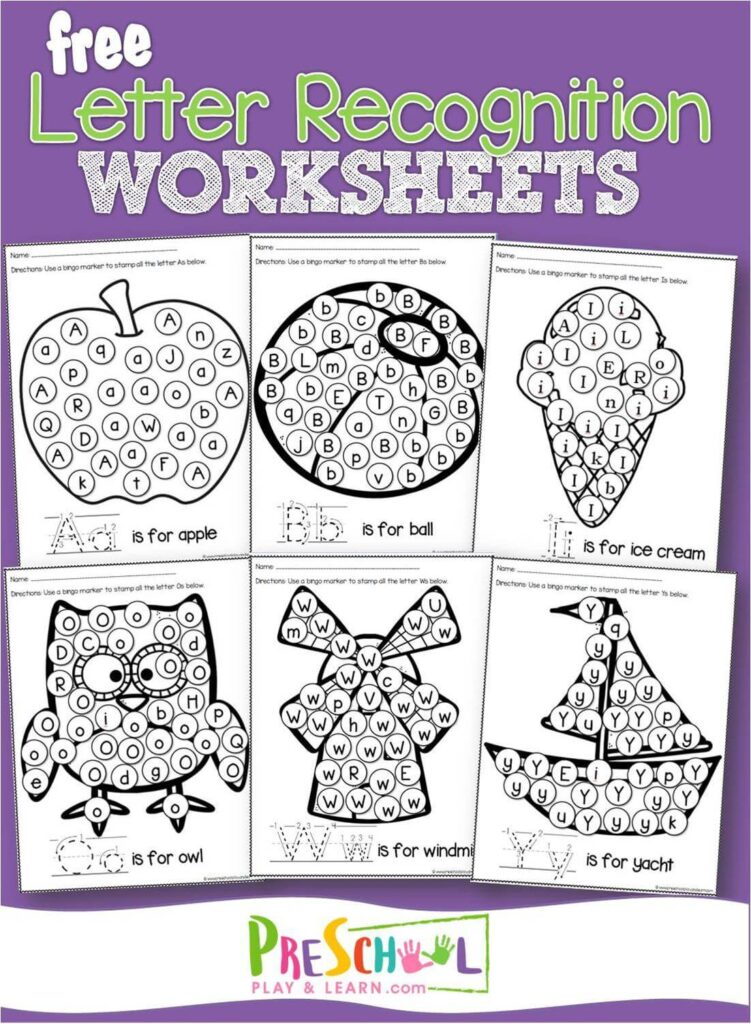 image relating to Letter Printables identify Cost-free Letter Attractiveness Worksheets Preschool Participate in and Find out