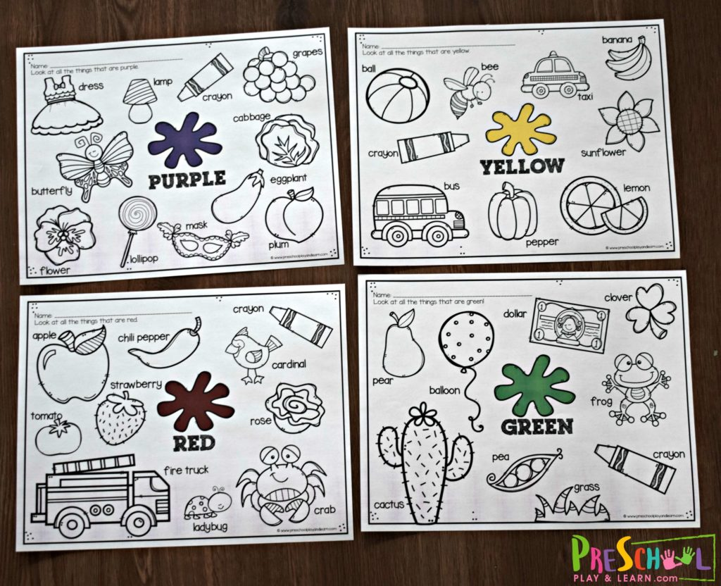 color-worksheets