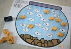 This is a fun counting-games using goldfish crackers.