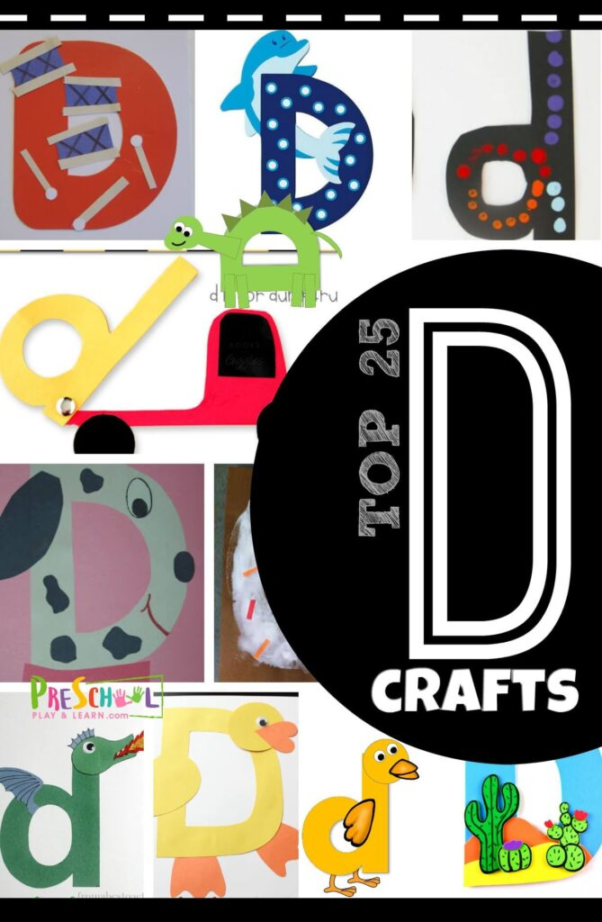 Top 25 Letter D Crafts Preschool Play And Learn