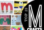 TOP 25 Letter M Crafts - so many really clever and cute alphabet crafts for toddler, preschool, prek, and kindergarten age kids for their next letter of the week unit #alphabet #preschool #craftsforkids