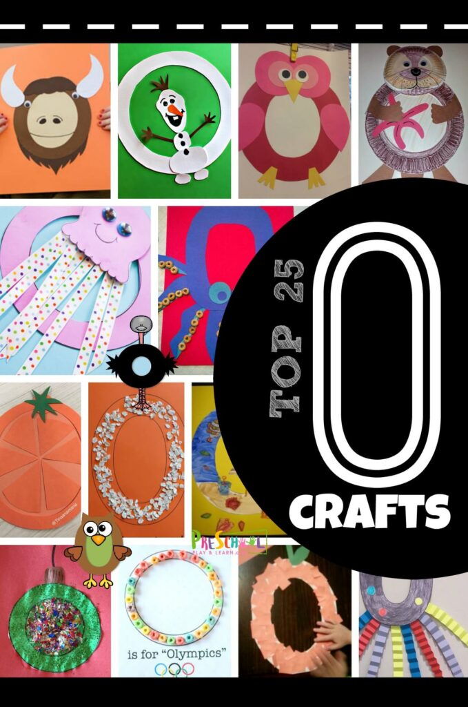 TOP 25 Letter O Crafts - so many super cute and unique alphabet crafts for letter o unit for letter of the week: ostrich, octopus, orange, Olympics, otter, and more! #alphabet #craftsforkids #preschool