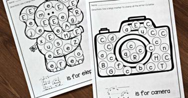 letter-recognition-worksheets