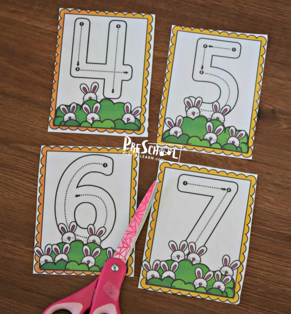 free printable spring count to 10 printables