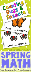 Free Counting Bugs Coloring Book