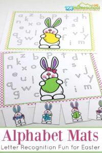 Easter Alphabet Mats