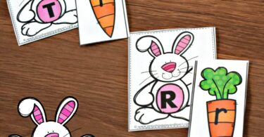 Easter Letter Matching
