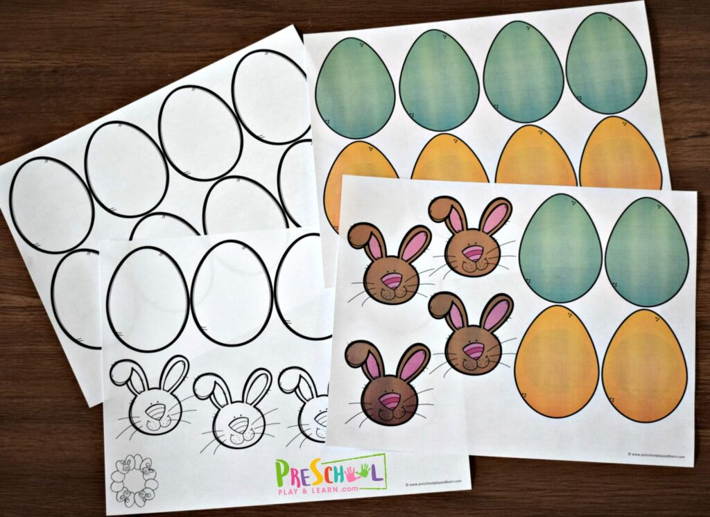 You will love how easy it is to make this Easter craft from this free easter printables