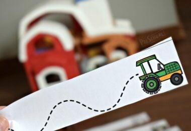 Super cute, free farm printables for toddler, preschool, prek, and kindergarten age kids