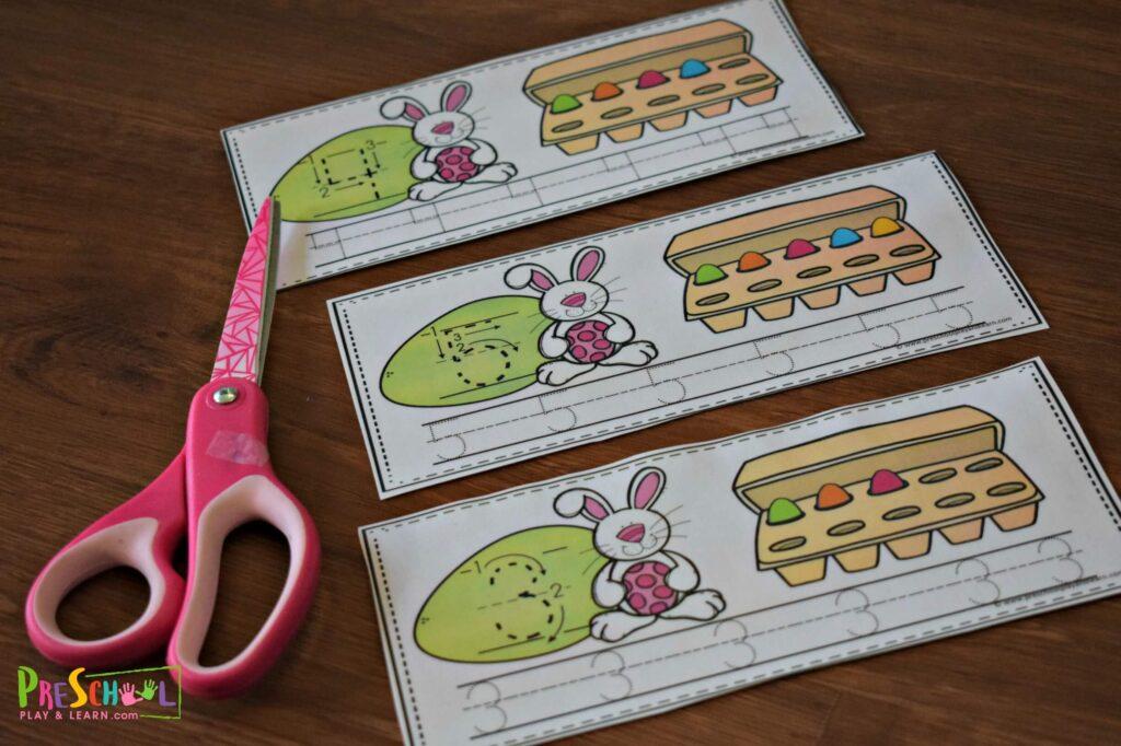 free easter printables for toddler, preschool and kindergarten age kids