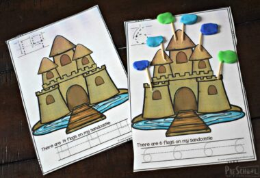 This is such a fun math activity for preschoolers.