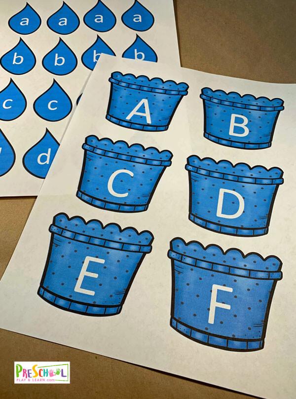 spring letter recognition games