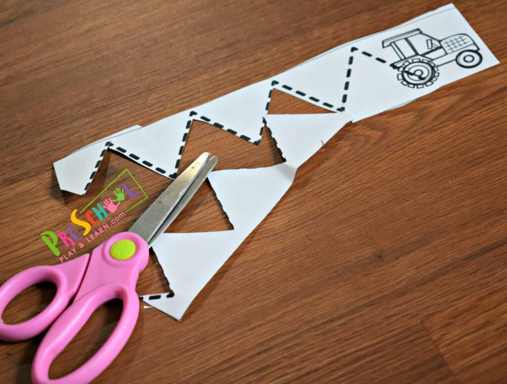 These are such a fun, low prep activity to help preschoolers Practice with Kids Scissors