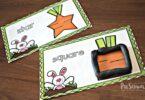 Super cute spring themes shape playdough mats for toddler, preschool, and kindergarten age kids