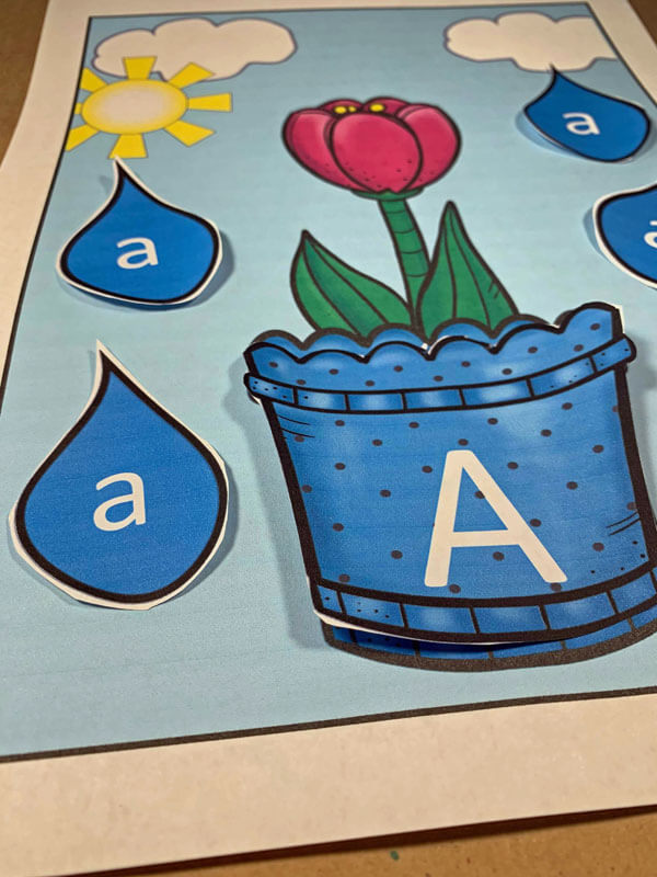 Spring ABC Games