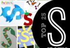 TOP 25 Letter S Crafts - lots of fun alphabet crafts for kids from toddler, preschool, and kindergarten age kids covering sun, shark, skunk, snail, swan, strawberry, snowman, starts, and more! #alphabet #craftsforkids #preschool