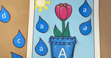 Spring Upper and Lowercase Letters
