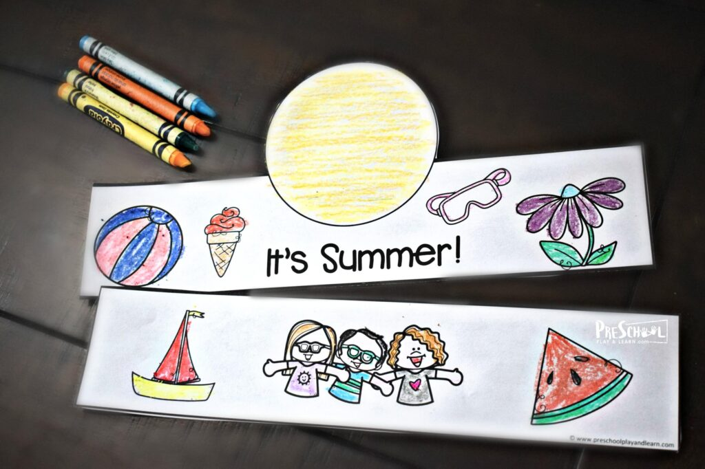 Celebrate the 1st day of summer with this craft for kids