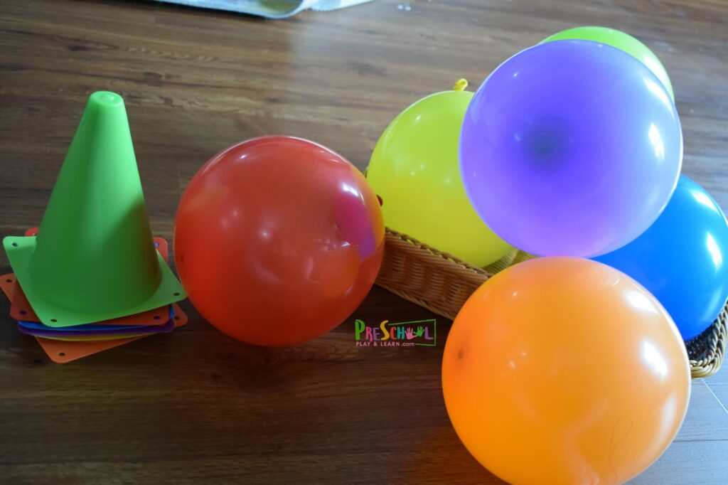 Easy and fun balloon games for kids