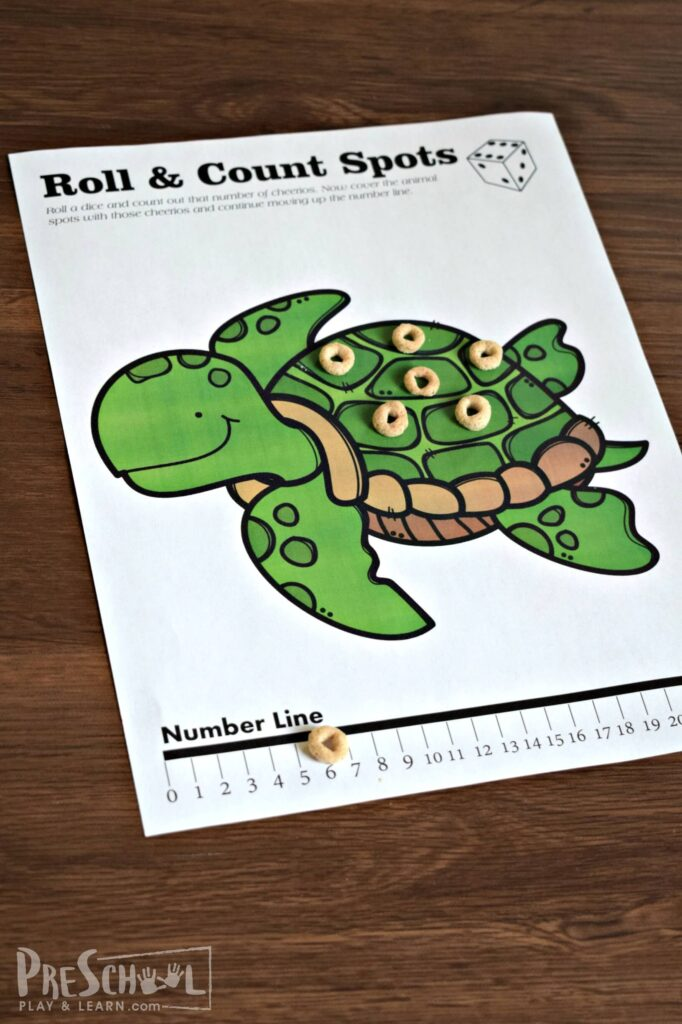 Fun counting games for toddler, preschool, and kindergarten age kids.