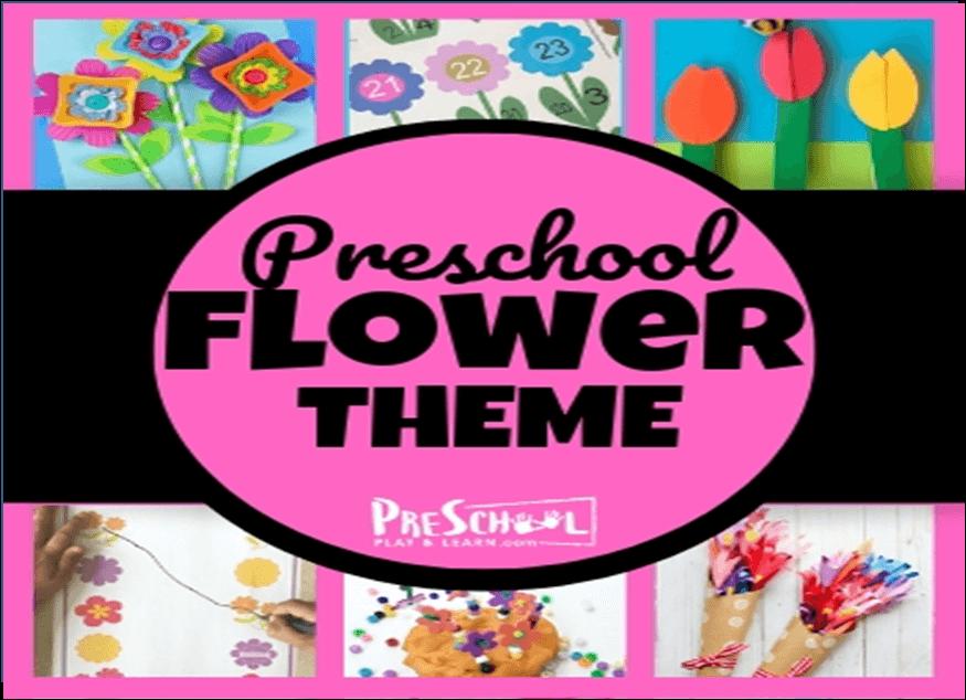 preschool flower theme