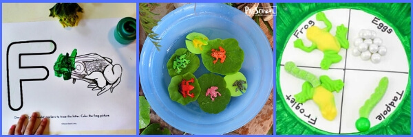 Super clever frog themed kids activities