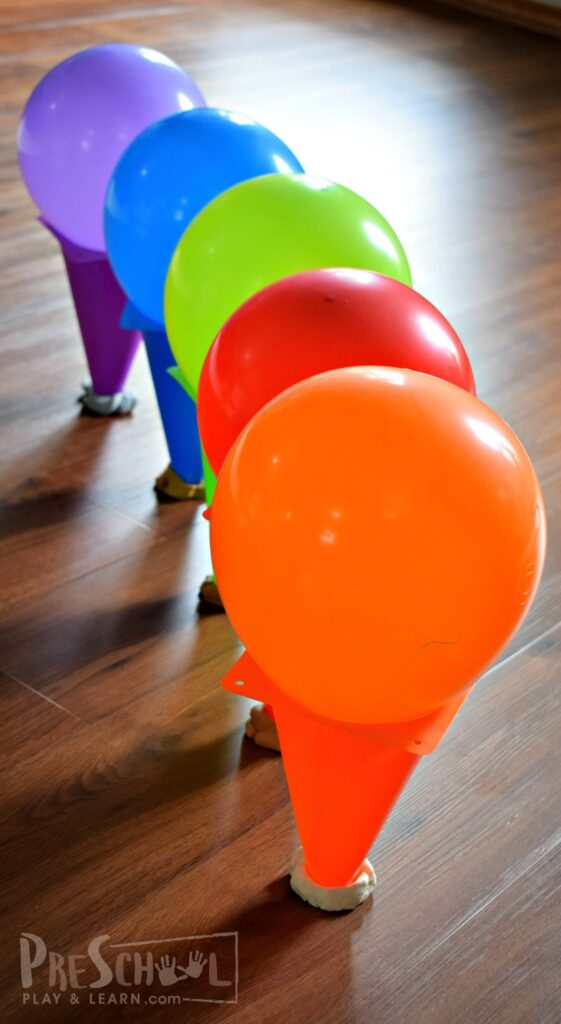 THis is such a fun balloon game for kids that is easy to set up