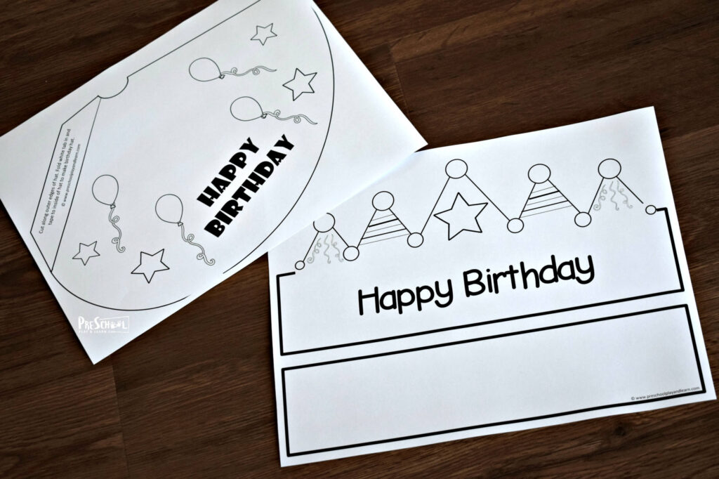 free happy birthday printable