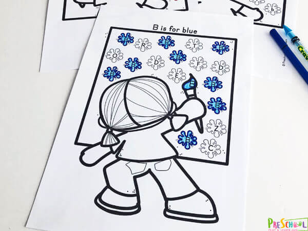 These worksheets for kids are great for learning colors with preschoolers and kindergartners.