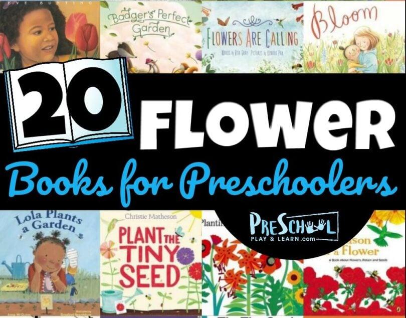 preschool-flower-books