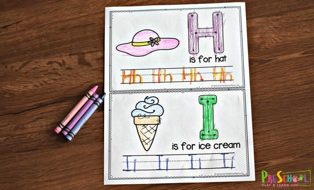 This summer alphabet book is such a fun way to sneak in some summer learning for kids
