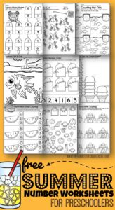 photograph regarding Free Printable Tracing Numbers identify Selection Tracing Sandcastles Preschool Engage in and Study