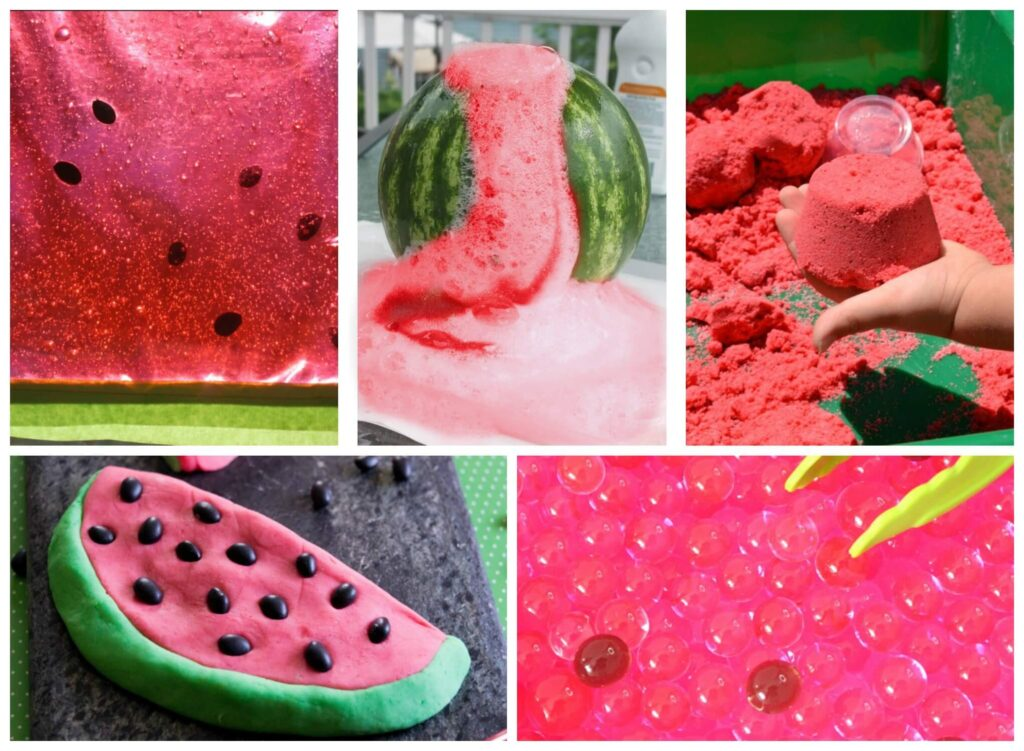 So many FUN watermelon activities for kids of all ages