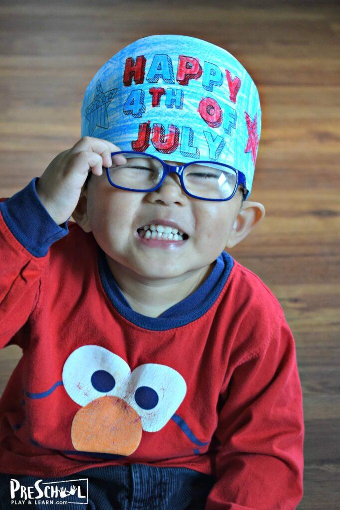 Super cute 4th of july craft for preschoolers
