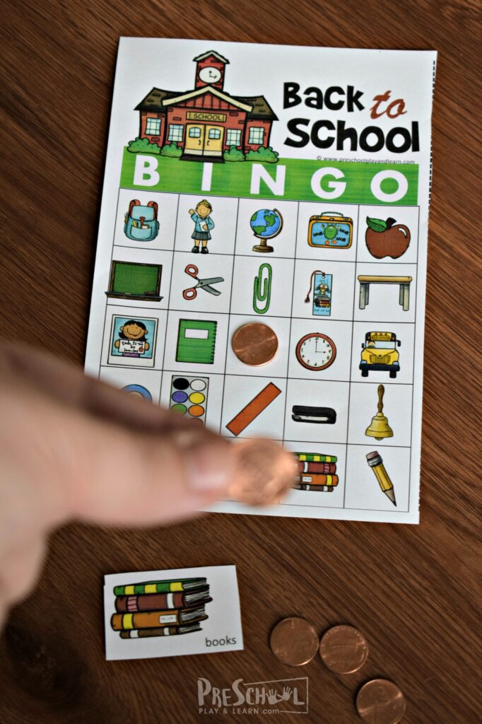 FREE First Day of School Games to print and play