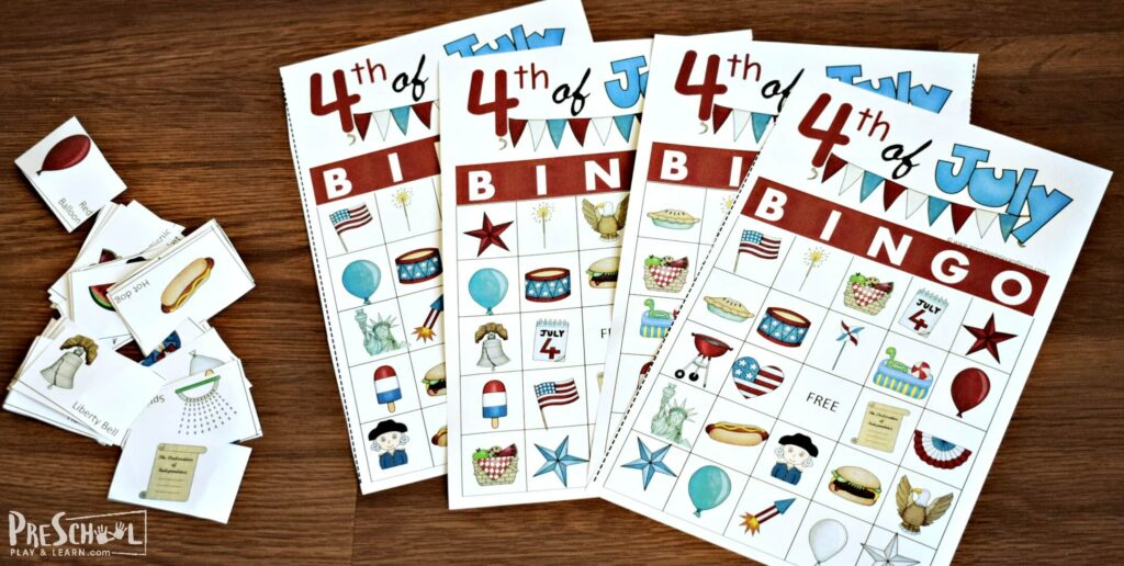 free fourth of july printables for kids of all ages and families