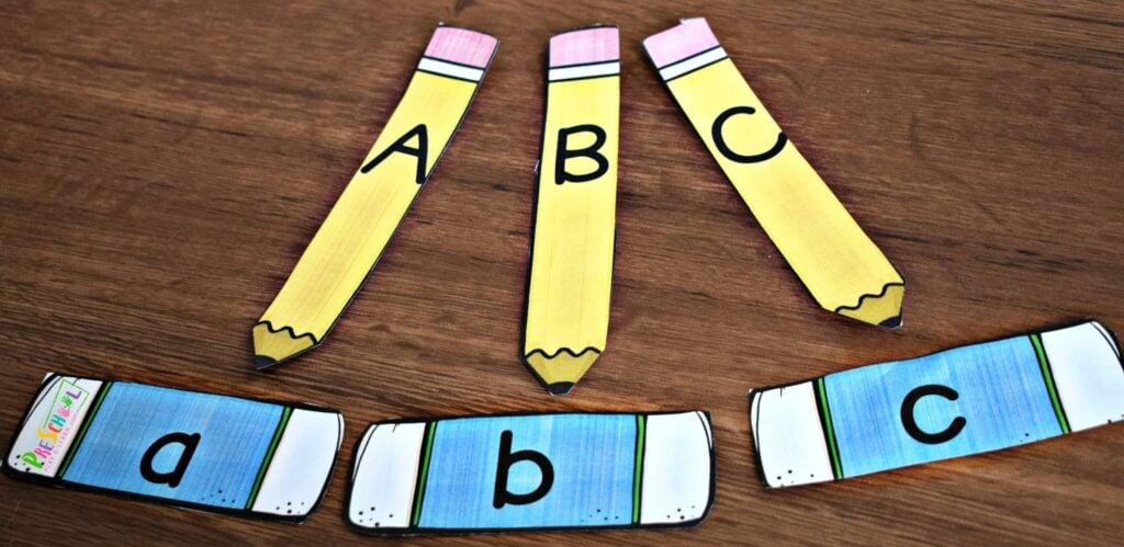 Preschool alphabet activity for preschoolers