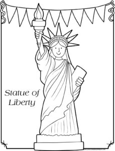 image about Free Printable 4th of July Coloring Pages called 4th of July Coloring Webpages Preschool Enjoy and Study
