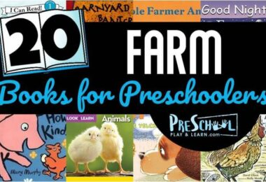 Farm Animal Books for Preschoolers