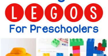 Learning with Legos for preschoolers - so many really fun ideas for learning literacy, STEM, and Lego math for kids of all ages #lego #preschool #prek