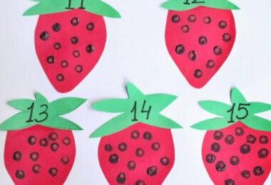 Fun Summer Counting Math Activities for Preschoolers