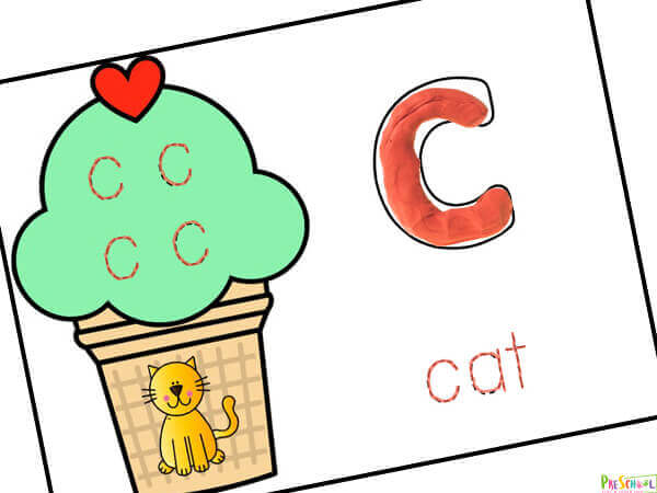 Alphabet Printables perfect for summer to practice tracing lowercase letters