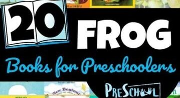 FROG books for kids to read this spring