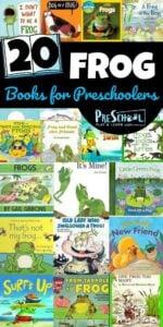 20 Frog Books for Preschoolers #books #preschool #frogs