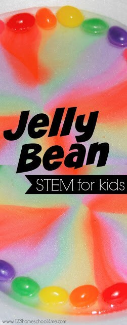 Amazing Jelly Bean Rainbow Activity