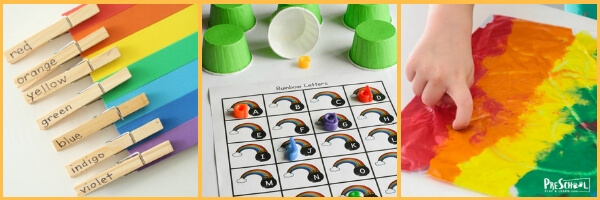 lesson plan about colors for preschool