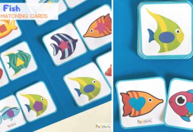 free printable matching game for kids