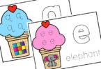 free printable playdough mats for preschoolers and kindergartners