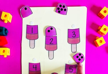 super cute popsicle themed printable puzzles for kids to practice counting
