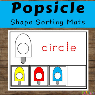 Clever shape activity perfect for summer learning